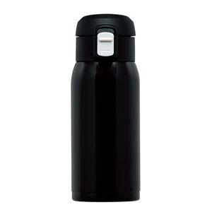 ワンタッチマグボトル350ml RH-1516 ブラック - 拡大画像