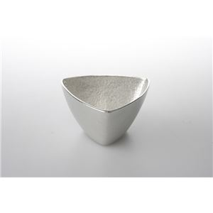 能作(nousaku) 錫器 小鉢 - 三角 - 拡大画像