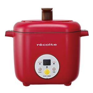 recolte(レコルト) Healthy CotoCoto(ヘルシーコトコト)/Red(レッド) RHC-1(R) - 拡大画像