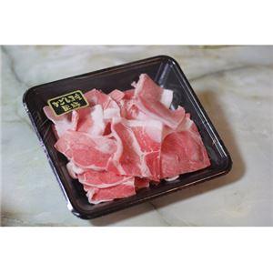 鹿児島黒豚「さつま」切り落とし 1kg - 拡大画像