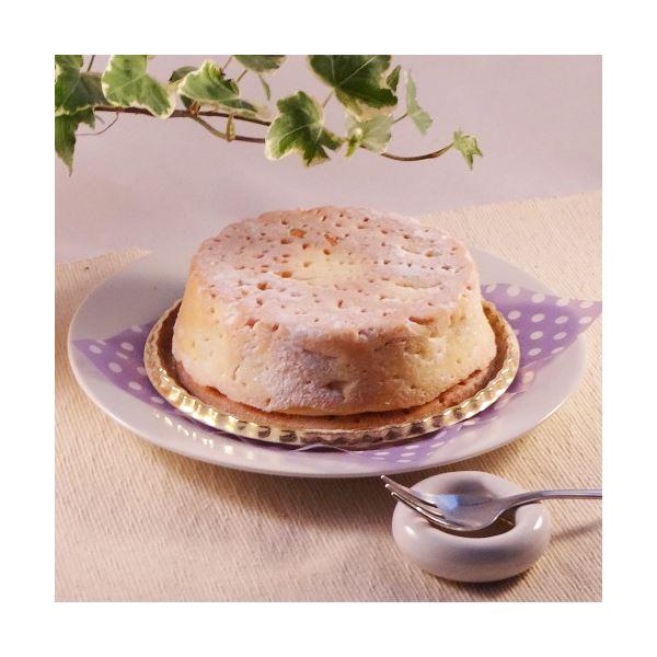 白いチーズケーキ 2台 (直径約12cm)