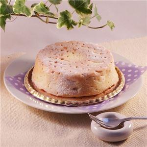 白いチーズケーキ 3台 (直径約12cm) - 拡大画像