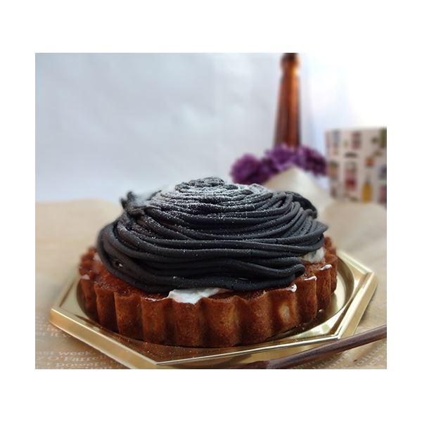 黒いモンブラン 1台 (直径約12cm)
