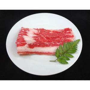 アメリカ産 牛カルビ スライス 【300g】 厚さ2mm 精肉 牛肉 〔ホームパーティー 家呑み バーベキュー〕 - 拡大画像
