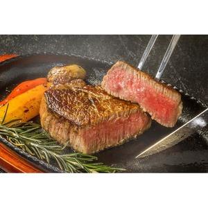テンダーロインステーキ 牛フィレ肉 【100g×3枚】 希少部位 赤身肉 〔ホームパーティー 家呑み バーベキュー〕 - 拡大画像
