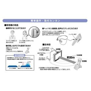コードレススピーカー/みみもとくんμII 軽量コンパクト