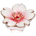 ジュエリーボックス/宝石箱 【桜 ホワイト】 クリスタルガラス使用 『PIEARTH』