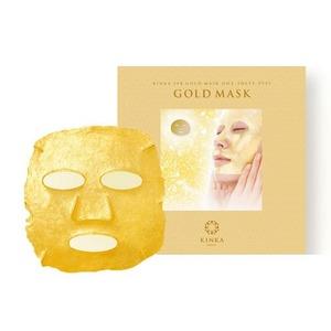 金華24K ゴールドマスク/金箔シートマスク 【1枚入り】 純金箔 フルフェイス 日本製 - 拡大画像