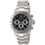 J.harrison 腕時計8石天然ダイヤモンド付多機能自動巻&手巻き腕時計 JH-014DS メンズ