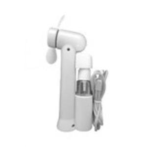 ミストスプレーファン ミスト機能付きハンディ扇風機 カラー:ホワイト - 拡大画像