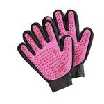 ペットのブラッシンググローブ 2枚組 ピンク