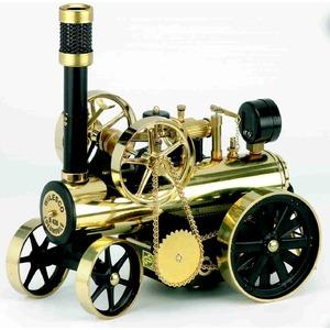 ドイツ製 ヴィルヘルム・シュレッダー社 蒸気エンジン付きトラクター Model D430 - 拡大画像