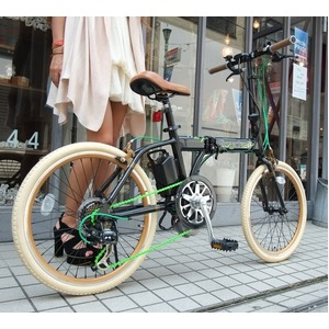 折りたたみ電動アシスト自転車 20インチ/ブラック(黒) シマノ7段変速 アルミ 【Raychell】 レイチェル+ R+511EA ALOEA