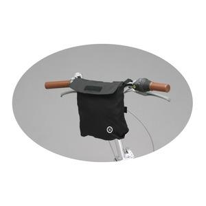 20インチキャリーバッグ(自転車用取り付けバッグ) 【OptionParts】 ブラック(黒) 〔自転車パーツ/アクセサリー〕 - 拡大画像