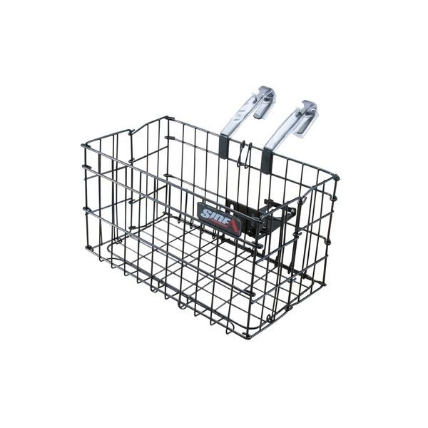 折りたたみ自転車カゴ 【SIDE-A】 FBO-001 ブラック(黒) 〔自転車パーツ/アクセサリー〕