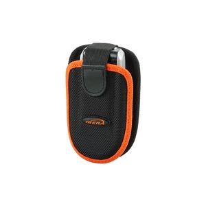 フォンケース(携帯電話ケース) 【IBERA】 IB-PB1 ブラック(黒) 〔自転車パーツ/アクセサリー〕 - 拡大画像