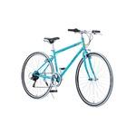 クロスバイク 700c(約28インチ)/ブルー(青) シマノ6段変速 重さ13.8kg 【RENAULT】 ルノー CRB7006S