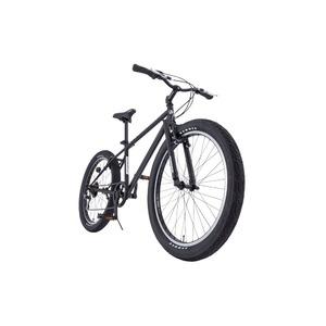 クロスバイク 26インチ/ブラック(黒) シマノ6段変速 【HUMMER】 ハマー TANK3.0 - 拡大画像