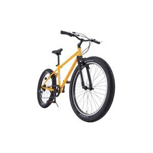 クロスバイク 26インチ/イエロー(黄) シマノ6段変速 【HUMMER】 ハマー TANK3.0 - 拡大画像