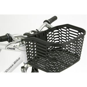 脱着式ATBバスケット(自転車カゴ) 【OGK】FB-005AX ブラック(黒) 〔自転車パーツ/アクセサリー〕 - 拡大画像