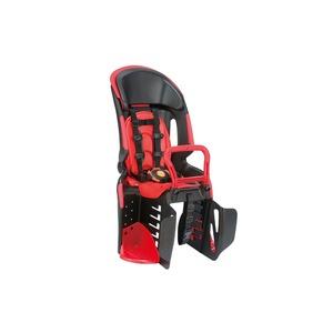 ヘッドレスト付き後ろ用子供乗せ(自転車用チャイルドシート) 【OGK】RBC-011DX3 ブラック(黒)/レッド(赤) - 拡大画像