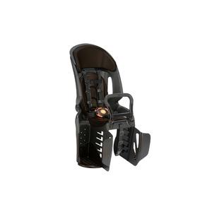 ヘッドレスト付き後ろ用子供乗せ(自転車用チャイルドシート) 【OGK】RBC-011DX3 ブラック(黒)/こげ茶 - 拡大画像