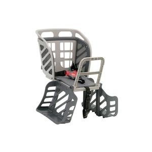 後ろ用子供乗せ(自転車用チャイルドシート) 【OGK】RBC-009S3 Wグレー(灰) 〔自転車パーツ/アクセサリー〕 - 拡大画像