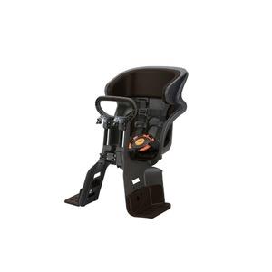 ヘッドレスト付きフロント子供乗せ(自転車用チャイルドシート) 前用 【OGK】FBC-011DX3 ブラック(黒)/こげ茶