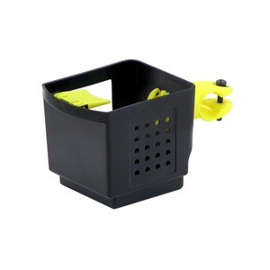 ドリンクホルダー 【OGK】 PBH-003 ブラック(黒)&イエロー(黄) 〔自転車パーツ/アクセサリー〕 - 拡大画像