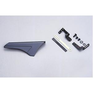 ATBチェーンカバー コンパクトサイズ 【OGK】 MG-001 ガンメタ 〔自転車パーツ/アクセサリー〕 - 拡大画像