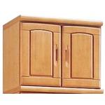 上置き(シューズボックス用棚) 幅60cm 木製 扉/棚板付き 日本製 ナチュラル 【Horizon3】ホライゾン3 【完成品 開梱設置】