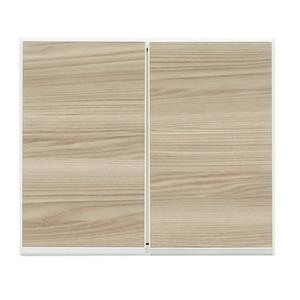 上置き(ダイニングボード/レンジボード用戸棚) 幅50cm 日本製 ブラウン 【完成品】