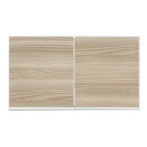 上置き(ダイニングボード/レンジボード用戸棚) 幅75cm 日本製 ブラウン 【完成品】