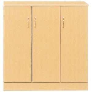 ローシューズボックス(下駄箱) 幅90cm×奥行38cm×高さ92cm 日本製 ナチュラル  【PLAZA2】プラザ2 【完成品 開梱設置】