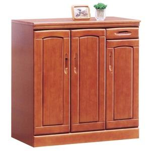 ローシューズボックス(下駄箱) 幅90cm×奥行40cm×高さ90cm 木製 棚板付き 日本製 ブラウン 【Horizon3】ホライゾン3 【完成品】