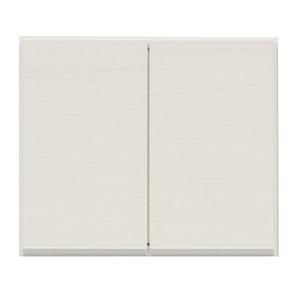 上置き(ダイニングボード/レンジボード用戸棚) 幅50cm 日本製 ホワイト(白) 【完成品】【開梱設置】