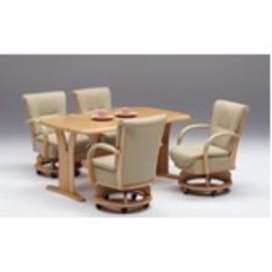 【チェア別売り】ダイニングテーブル/リビングテーブル 【長方形/幅180cm】 ナチュラル 『サム』 木製 6人掛け 木目調【開梱設置】