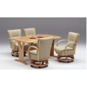 【チェア別売り】ダイニングテーブル/リビングテーブル 【長方形/幅180cm】 ナチュラル 『サム』 木製 6人掛け 木目調