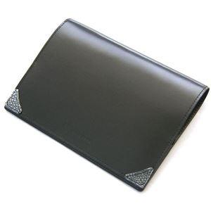 Colore Borsa(コローレボルサ) ブックカバー ブラック MG-007 - 拡大画像