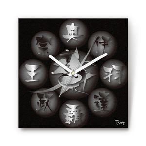 奥羽覇王・伊達政宗 戦国ファブリック掛時計 - 拡大画像