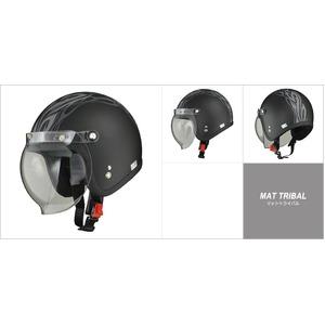 MOUSSE (ムース) ジェットヘルメット マットトライバル