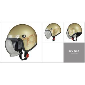 MOUSSE (ムース) ジェットヘルメット 70's ゴールド