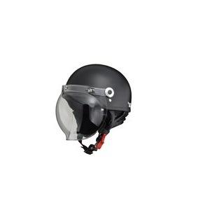 CR-760 ハーフヘルメット ハーフマットブラック - 拡大画像