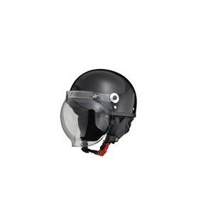 CR-760 ハーフヘルメット ブラック - 拡大画像
