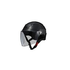 SERIO(セリオ) RE-40 シールド付きハーフヘルメット ブラック