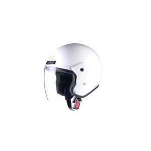 全排気量対応 CR-720 スタンダード ジェットヘルメット ホワイト - 拡大画像