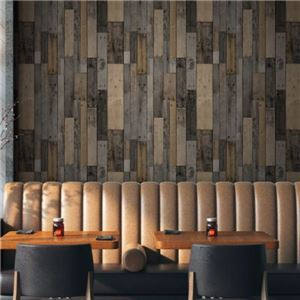 【WAGIC】(30m巻)リメイクシート シール壁紙 プレミアムウォールデコシートW-WA322 オールドウッド 木目調 - 拡大画像