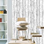 壁紙シール♪DIY壁紙新時代!プレミアムウォールデコシート30m巻|W-WA301 ウッド ヴィンテージ ホワイト系