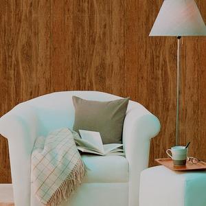 プレミアムウォールデコシート/DIY壁紙シール 【30m巻】 W-WA313 ウッド レトロ ブラウン系 - 拡大画像