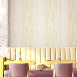 壁紙シール/プレミアムウォールデコシート 【30m巻】W-WA311 木目 レトロ ライトベージュ系【アウトレット】 - 拡大画像